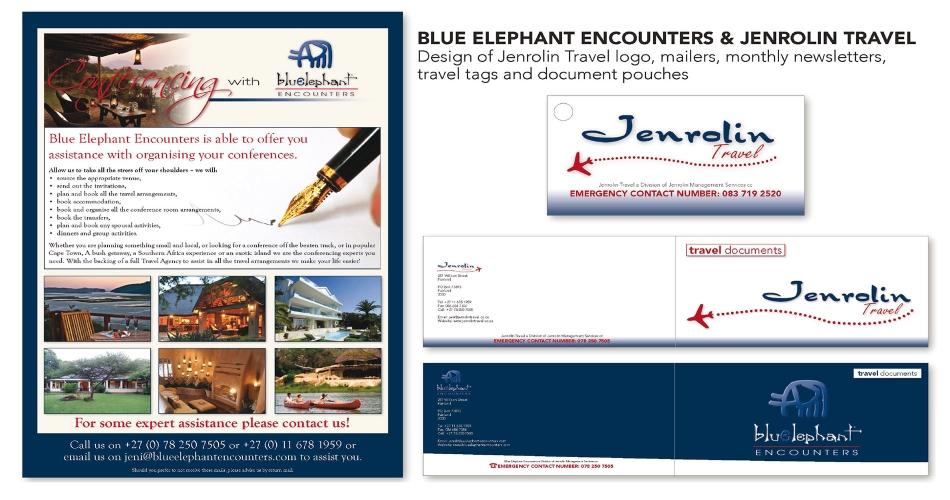 Blue Elephant Encounters & Jenrolin Travel