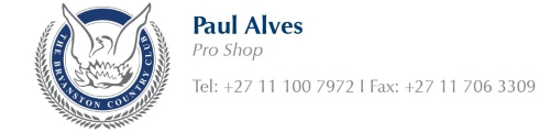 Paul Alves - Tel: 011 100 7972 | 011 706 3309